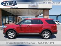 New 2017 Ford Explorer, We took out of our New