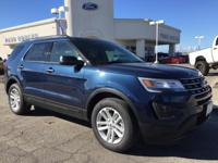 Options:  2017 Ford Explorer Base|Blue|3.39
