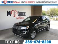 Black 2017 Ford Explorer Limited AWD 6-Speed Automatic