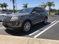 New Price! Recent Arrival! 2017 Ford Explorer Limited