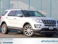 2017 Ford Explorer Limited 6-Speed Automatic with
