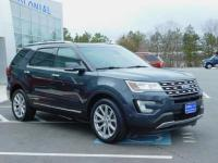 2017 Ford Explorer Limited Wheel Drive With Navigation