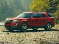2017 Ford Explorer and 2 Years of Maintenance Included.