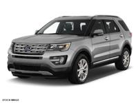 Options:  2017 Ford Explorer Limited|Miles: 15053Color: