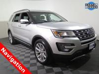 2017 Ford Explorer Limited with a 3.5L Engine. Leather