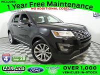 FORD CERTIFIED*7 YEAR/100K WARRANTY, LEATHER,