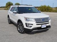 This low mileage, one owner Ford Explorer Platinum 4WD