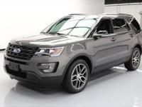 This awesome 2017 Ford Explorer Sport 4x4 comes loaded