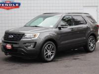 This 2017 Ford Explorer Sport will sell fast! Priced to