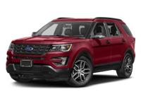 Come see this 2017 Ford Explorer Sport. Its Automatic
