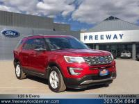 Ruby Red Metallic Tinted Clearcoat 2017 Ford Explorer