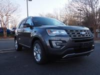 2017 Ford Explorer. AWD. Stability and traction control