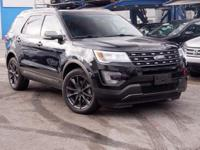 Recent Arrival! 2017 Ford Explorer XLT Shadow Black