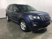 CARFAX One-Owner. Clean CARFAX. 2017 Ford Explorer XLT