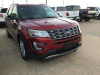 Recent Arrival! Ford Explorer XLT Red FWD Clean CARFAX.