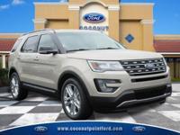 Options:  2017 Ford Explorer Xlt White Gold