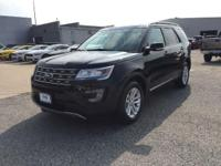 Options:  2017 Ford Explorer Xlt|Shadow Black|Ebony