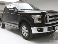 This 2017 Ford F-150 XLT Crew Cab 2WD with only 31,319