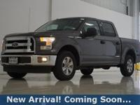 2017 Ford F-150 XLT in Magnetic Metallic, This F-150