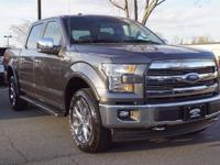 2017 Ford F-150. 4WD. Power to the power of two. This
