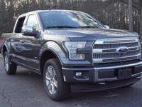2017 Ford F-150. 4WD. Inherits the road with a