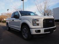 2017 Ford F-150. Put the pedal to the metal because the