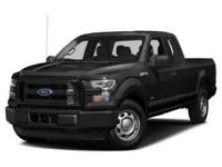 Recent Arrival! 4WD. Black 2017 Ford F-150 Lariat 4WD
