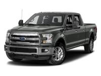 This 2017 Ford F-150 Lariat in Shadow Black features:
