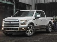 White Platinum Metallic Tri-Coat 2017 Ford F-150 Lariat