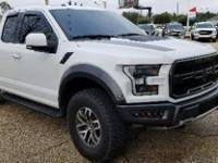 Oxford White 2017 Ford F-150 Raptor 4WD 10-Speed