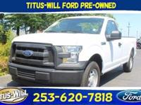 New Price! Oxford White 2017 Ford F-150 XL RWD 6-Speed