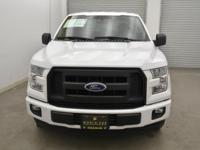 CARFAX 1-Owner. Oxford White exterior and Dark Earth