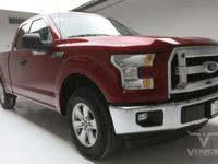 This 2017 Ford F-150 XLT Texas Edition Extended Cab 2WD
