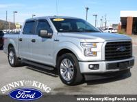 CARFAX One-Owner. Ingot Silver Metallic 2017 Ford F-150