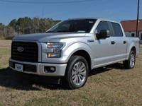This 2017 Ford F-150 is equipped with luxury car-level