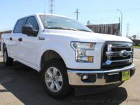 This 2017 Ford F150 SuperCrew Cab 4dr XLT Pickup 4D 5