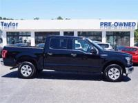 CarFax 1-Owner, This 2017 Ford F-150 XLT 4x2 SuperCrew