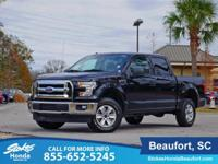 CARFAX One-Owner. Clean CARFAX. Black 2017 Ford F-150