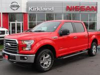 Save Thousands $$$$ with this 2017 F150 SuperCrew, 4x4,