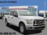 New Price! Clean CARFAX. White 2017 Ford F-150 4WD