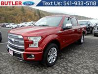 Red 2017 Ford F-150 4WD 10-Speed Automatic EcoBoost