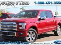 Platinum 4WD.Price includes: $500 - Ford Credit Retail