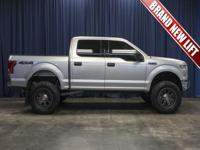 One Owner Clean Carfax 4x4 Truck with a Brand New Lift
