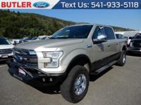 Gold 2017 Ford F-150 4WD 10-Speed Automatic EcoBoost