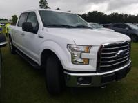 Oxford White 2017 Ford F-150 XLT 4WD 6-Speed Automatic