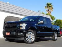 2017 Ford F150 XL Super Crew 2WD Pickup LIKE NEW! This