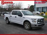 White 2017 Ford F-150 XLT RWD 10-Speed Automatic