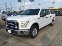 Options:  2017 Ford F-150 Xlt|Oxford White|Medium Earth