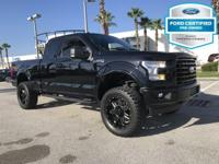 CARFAX One-Owner. Certified. Shadow Black 2017 Ford