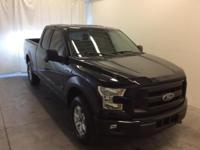Ford Certified. Shadow Black 2017 Ford F-150 XLT 4WD